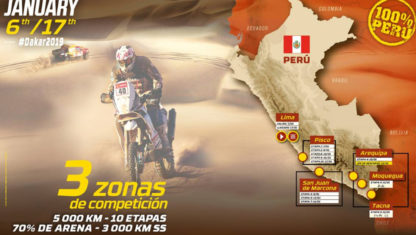 The Dakar Route 2019: 10 epic stages