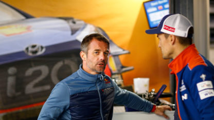 Loeb signs WRC two-year deal with Hyundai