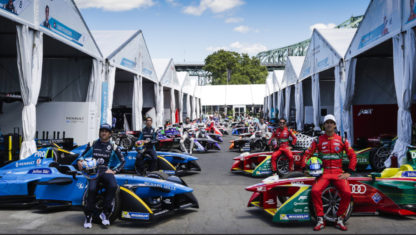 2018-2019 Formula E Grid : Teams and drivers