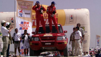 The first and only woman to ever win a Dakar Rally