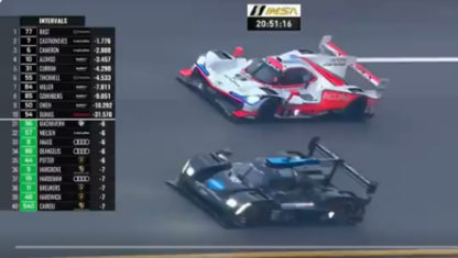 The thrilling duel between Alonso and Castroneves at Daytona
