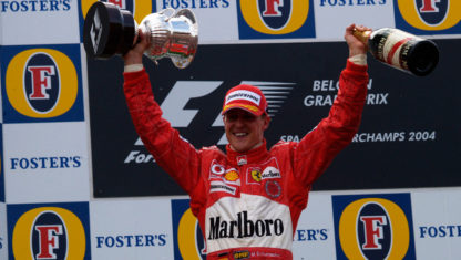 The most memorable moments of Michael Schumacher in Formula 1