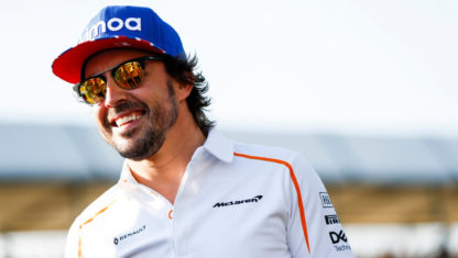 Fernando Alonso to get behind the wheel of the McLaren MCL34 this season