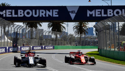 The 2019 F1 season launches with the Australian Grand Prix 2019