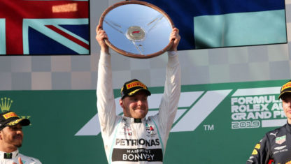F1 Australian GP: Valtteri Bottas wins after dominant performance