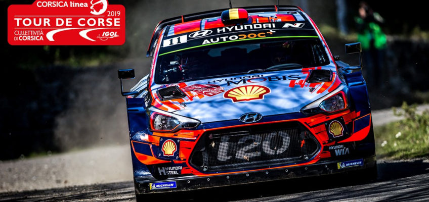 Rally Corsica 2019:Neuvillewins and takes the lead following epic finale
