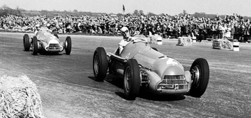 The first Formula 1 race: The 1950 British GP