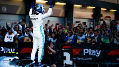F1Azerbaijan GP:Bottasregains leadership in Mercedes' fourth one-two