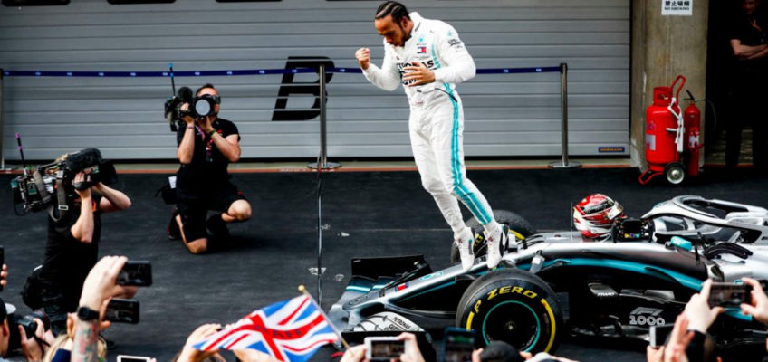 2019 Chinese F1 GP: Victory for Hamilton and the third one-two for Mercedes