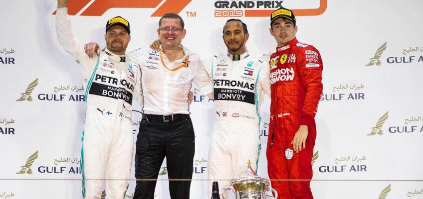 2019 F1 Bahrain GP: 1-2 for Mercedes amidst Ferrari's misfortune