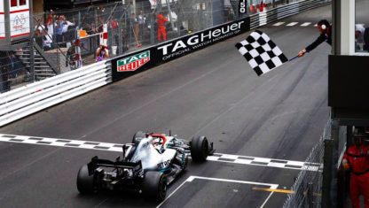 F1 Monaco GP 2019: Hamilton rides out the storm and wins