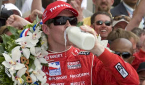 Why 500 Miles ofIndianapolis' winnerscelebrate with a bottle of milk?