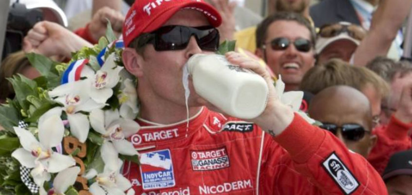 Why 500 Miles of Indianapolis' winners celebrate with a bottle of milk?