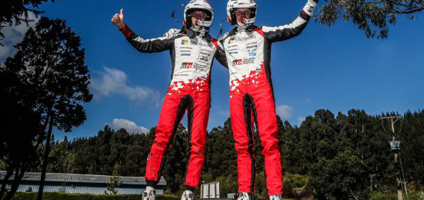 Rally Chile:Tänakwins and Ogier takes the lead of the WRC