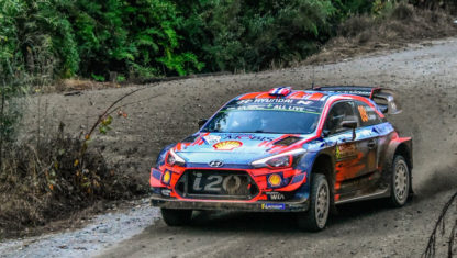 Hyundai swaps Mikkelsen for Loeb for Rally Portugal
