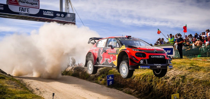 Why is Ogier accusing Hyundai of using unfair tactics at Rally Portugal?