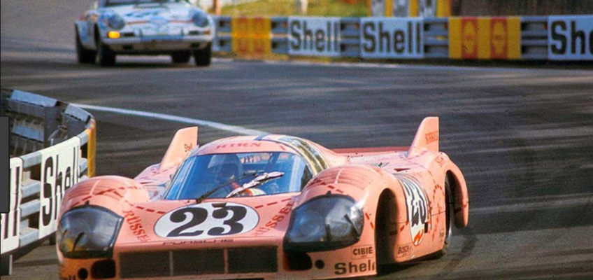 "The Porsche 917 ""Pink Pig"", an animal in Le Mans"