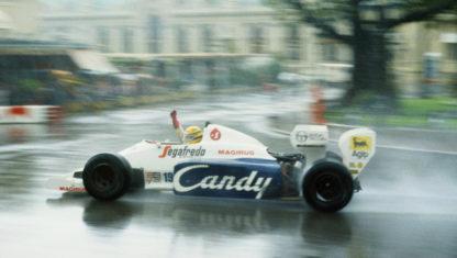F1 Monaco Grand Prix 1984:AyrtonSenna dazzles the world