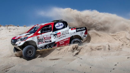 Is Fernando Alonso going to Dakar?