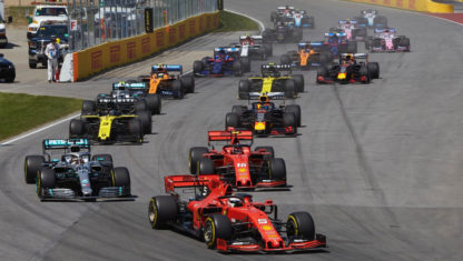 2019 F1CanadianGP: Hamiltonwins after Vettel is penalised