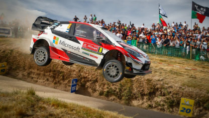 Rally Portugal:Tänak and Toyotatakes authoritative win