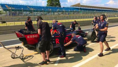 Sebastien Buemisuffers breathtaking accident at F1 tests in Silverstone
