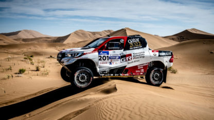 Fernando Alonso will compete in next Dakar with Marc Coma as co-pilot