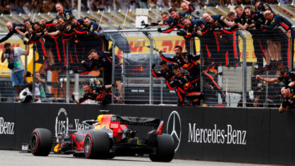 2019 F1 German GP: Verstappen commands amidst the rain and chaos