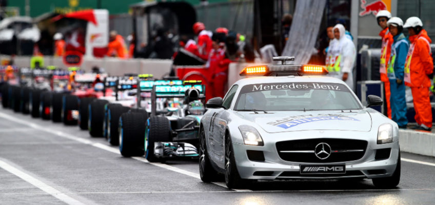 When the safety car itself becomes a… danger!