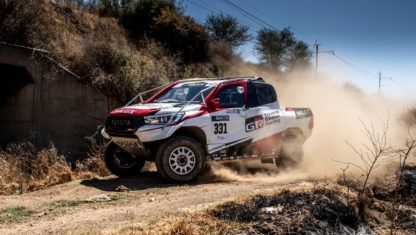 Fernando Alonso makes his rally-raid debut in South African