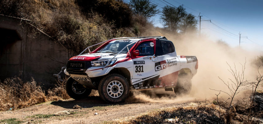 Fernando Alonso makes hisrally-raiddebut in South African