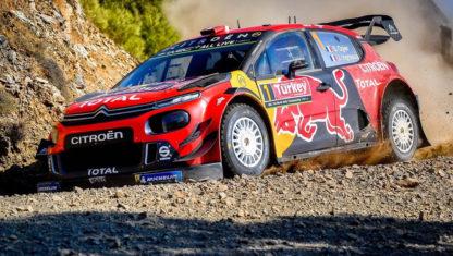 Rally Turkey 2019:Ogierleads Citroën's 1-2
