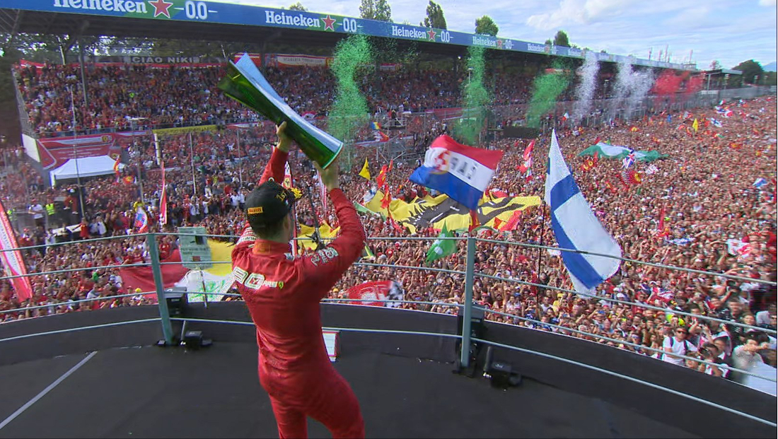 2019 F1 Italian GP: Leclerc's epic victory at Monza ...