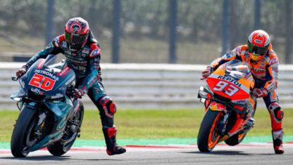 San Marino MotoGP 2019:MarquezbeatsdangerousQuartararo