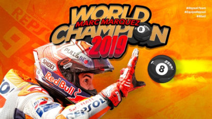 Thailand MotoGP 2019:  Marquez seals eight title on last corner