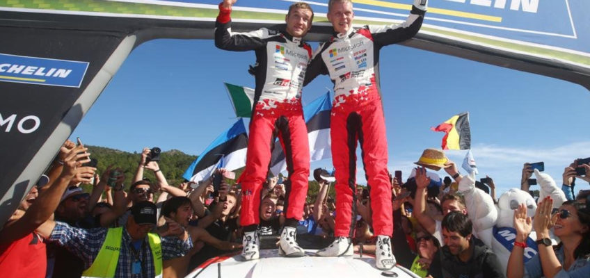 RallySpain2019:TänaksecuresWRCtitleinCatalonia