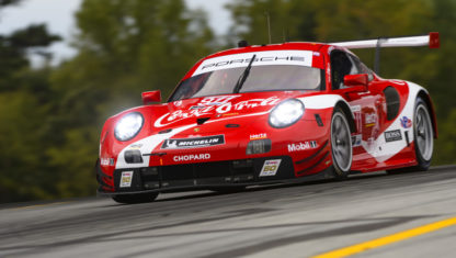 The secret homage of the Porsche 911 RSR 'Coca-Cola'