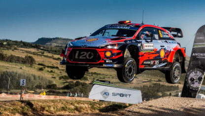 WRC: Dani Sordo extends Hyundai contract for 2020