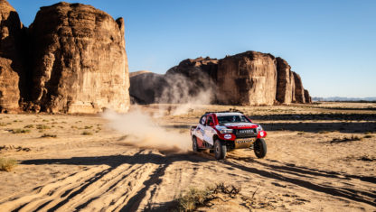 Alonso and Coma's final test in Saudi Arabia before Dakar