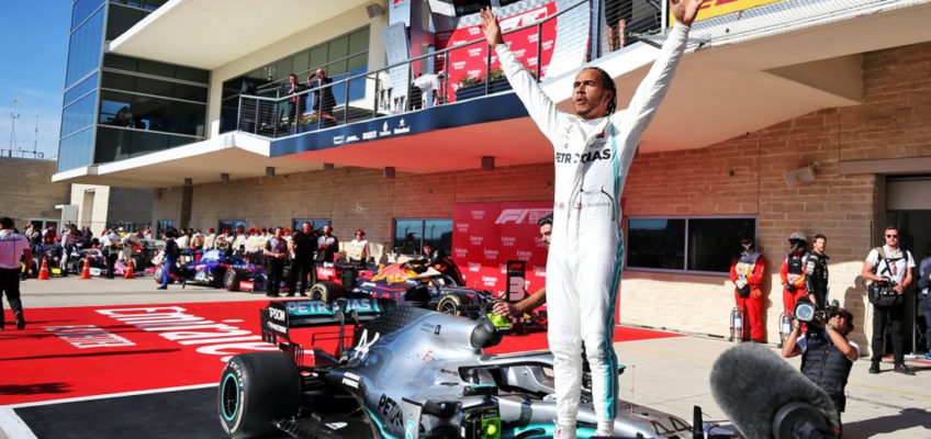 United States F1 GP 2019: Hamilton breaks Fangio's record after securing sixth title
