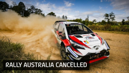 Raging bushfires force cancellation of Rally Australia