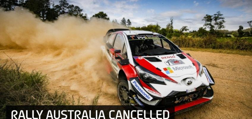 Raging bushfires force cancellation of Rally Australia
