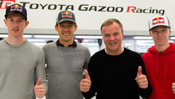 Toyota strikes back and hires Ogier and Evans for the 2020 WRC