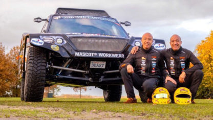 Tim and Tom Coronel unveil their 'beast' for the Dakar 2020