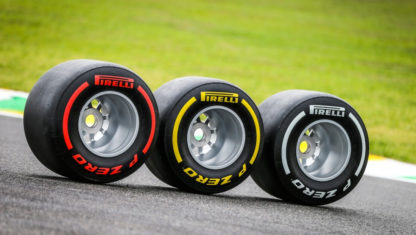 2020 F1 Tyres will remain unchanged