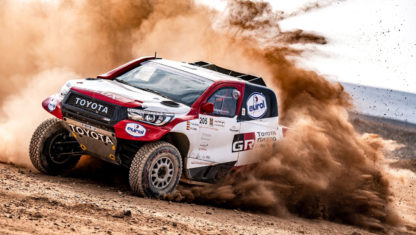 Alonso and Coma, ready for the Dakar