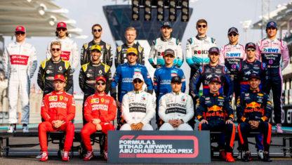 Thisisthe2020 Formula 1grid