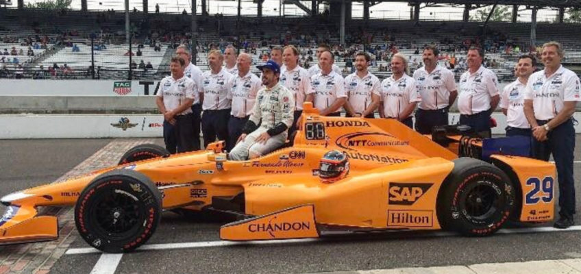 Fernando Alonso will take part in the 500 Miles of Indianapolis