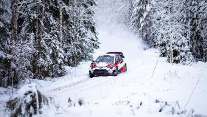 Toyota WRT prepares for WRC 2020 in Sweden