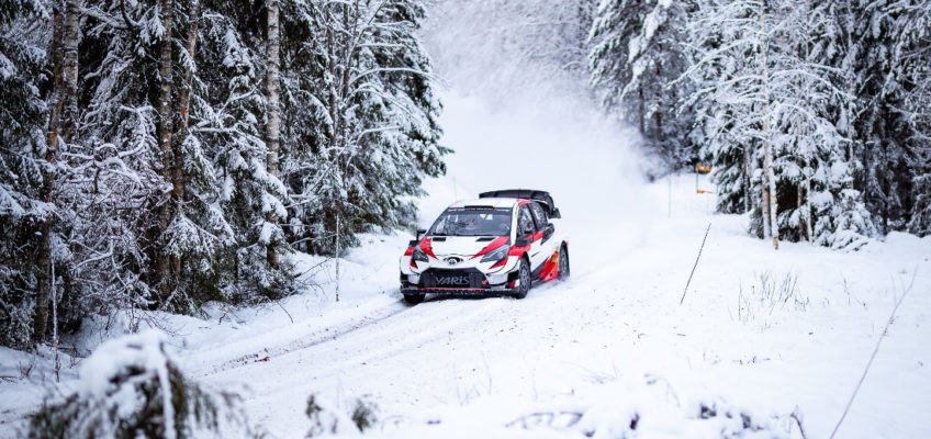 Toyota WRT prepares for WRC 2020 in Sweden
